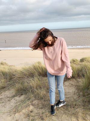 Bluza Oversize Dusty Pink
