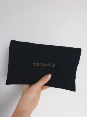 moonchild Black Canvas Pouch