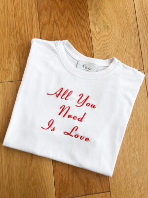 All You Need Is Love Oversized T-Shirt